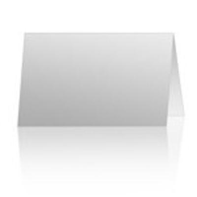 5x7 Landscape folded card, single image