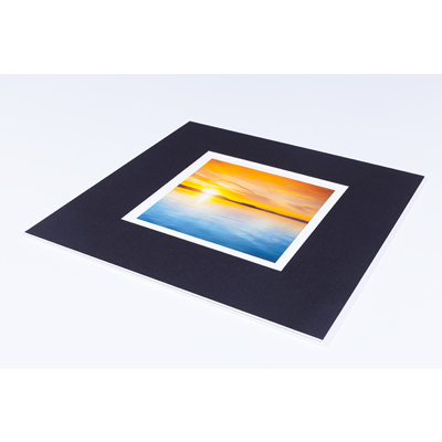 11 x 11 Mount with 7 x 7 print + border
