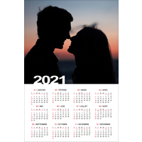 12x18 Poster Calender - 2021