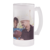 16 oz. Frosted Photo Stein