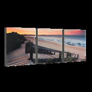 """3-8x10 Premium 1"""" Split Image Blocks"""
