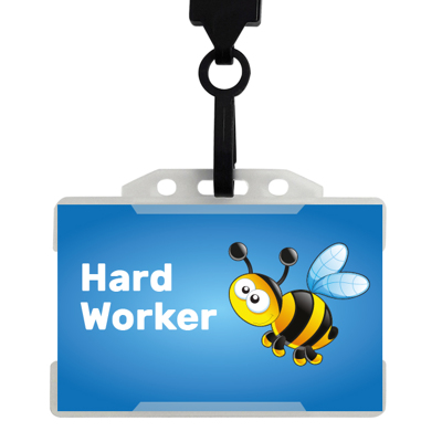20 x Hard Worker Badges
