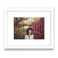 8x10 White Gallery Framed Print