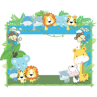 Lion Children Frame