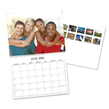 8.5x11 Calendar - 12 pictures (FRENCH)