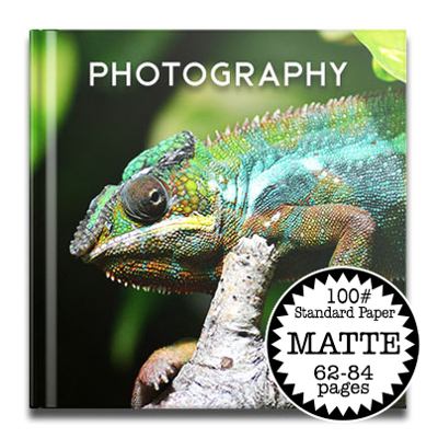 8.5 x 8.5 Hard Cover Photobook /Standard 100# (62-84 Pages)