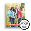 8.5 x 11 Hard Cover Photobook / Photo Lustre Paper. (20-30 Pages)