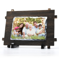 Photo Slate PH15 with wooden frame