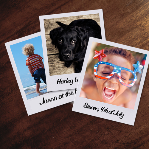 Small Retro Portrait Prints - Set of 20 - each print is 3x4