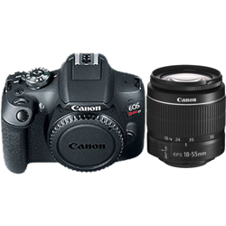 Canon-EOS Rebel T7 Digital SLR Camera with EF-S 18-55mm DC III Lens-Digital Cameras