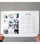 1 Page Poster Calendars (DONE IN STORE)