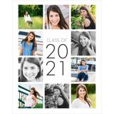 2021 Grad Poster Multi Image Bright