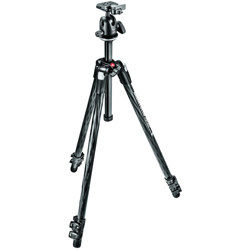 Manfrotto-290 Xtra Carbon Kit - Carbon Fiber 3 Section Tripod with Ball Head #MK290XTC3-BH-Tripods & Monopods