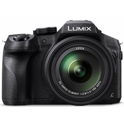 Panasonic-Lumix DMC-FZ300 Long Zoom Digital Camera - Black-Digital Cameras