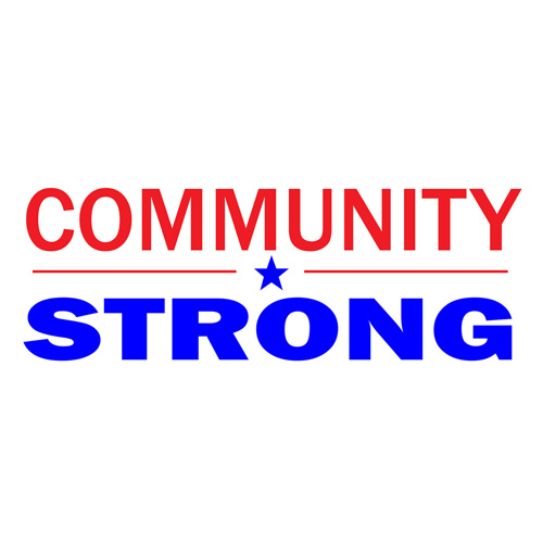 Community Strong Banner 8'x3'