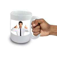 Jumbo 15oz  Mega Mug with Wrap Around Image