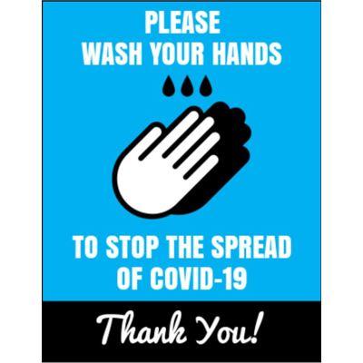 8.5 x 11 Covid-19 Poster M2