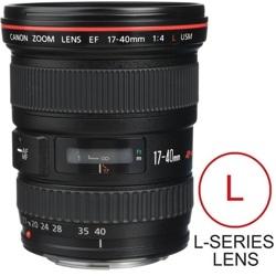 Canon-EF 17-40mm F4L USM-Lenses - SLR & Compact System
