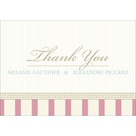 Vintage C - 1 Sided Thank You