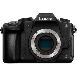 Panasonic-LUMIX G85 4K Mirrorless Interchangeable Lens Camera - Body Only - Black-Digital Cameras