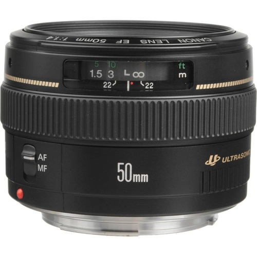 Canon-EF 50mm F1.4 USM-Lenses - SLR & Compact System