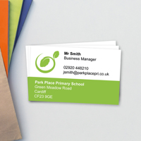 Colour Block Business Card