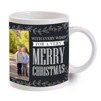 Christmas & New Year 2 Photo Mug