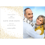 Confetti - Save the Date 7x5