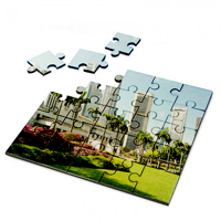 Hardboard Puzzle 17cm x 17cm Free layout.