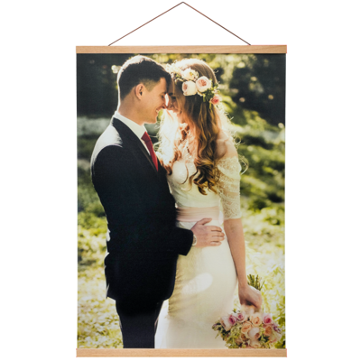 20x30 Canvas Poster with Poster Hanger