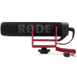 RODE-VideoMic GO - Lightweight On-Camera Microphone-Microphones and Accessories