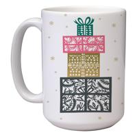 15 oz Christmas Mug (A5) Wrap