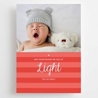 Striped Delight: 10pk Holiday Cards