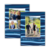 Ocean Waves: 10pk Holiday Cards