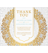 Luxury - 1 Sided Thank You