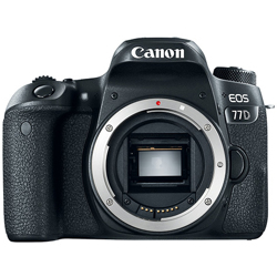 Canon-EOS 77D Digital SLR Camera - Body Only-Digital Cameras