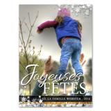 """Joyeux Fêtes - 5"""" X 7"""""""
