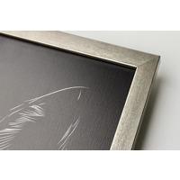300x450mm  Framed Metal Print - Pewter 20mm Frame - Vertical