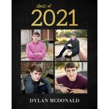 2021 Grad Poster Multi Image Dark