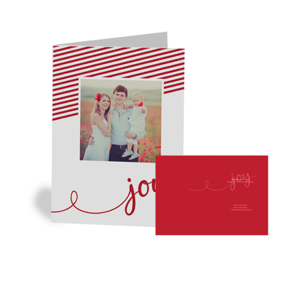 16-040 - V Folded - CARDSTOCK CARD - SET OF 25