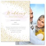 Confetti - 2 Sided Invitation
