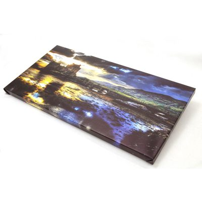 20 x 16 metallic canvas landscape 1.5 deep