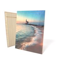 Floating Wood Prints