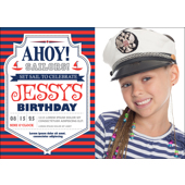Ahoy B-Day - 1 Sided (duplicate)