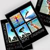 8.5 x 11 Black Background 2017 Spiral Calendar