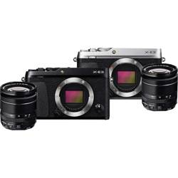 Fujifilm-X-E3 Mirrorless System Camera with XF 18-55mm F2.8-4.0 Lens-Digital Cameras