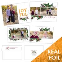 Joyful Berries<br>5x7 Foil Slider<br>Envelope