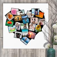 20 x 20 Heart Collage (20 photos)