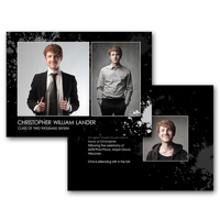 5x7 2-Sided Graduation Card (16-019)