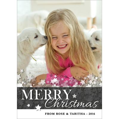 A - Merry Christmas Stars